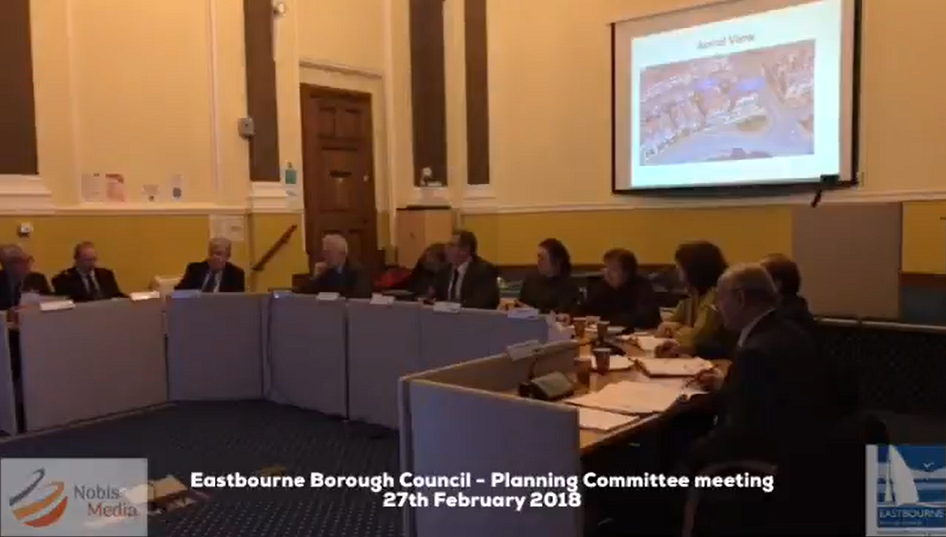 Eastbourne Borough Council Planning committee meeting