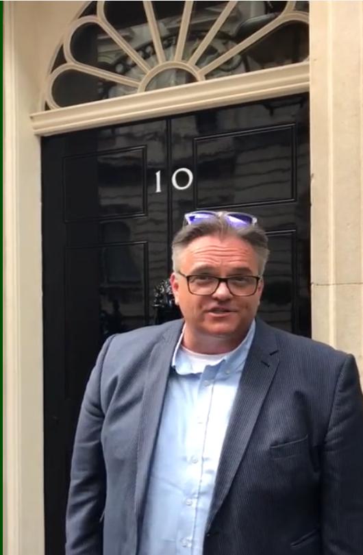Chris Dabbs Downing Street