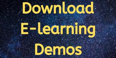 E-learning demos